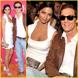Matthew McConaughey - ACMs 2009 with Camila Alves