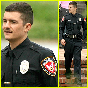 Orlando Bloom is Police Officer Protective