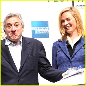Robert DeNiro & Uma Thurman: Tribeca Titans