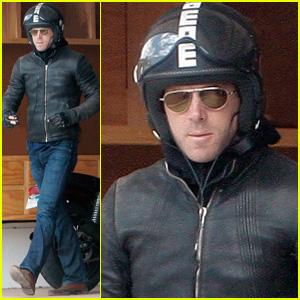 Ryan Reynolds is a Motorcycle Man