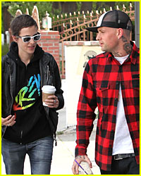 Samantha Ronson & Benji Madden's Coffee Talk