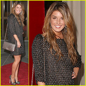 Shenae Grimes is Very Valentino