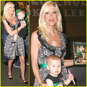 Tori Spelling Monopolizes Mommywood