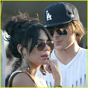 Zac Efron & Vanessa Hudgens: Coachella Cute!