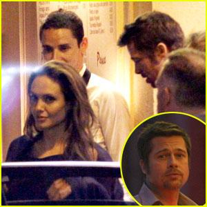 Angelina Jolie & Brad Pitt: Dinner Date