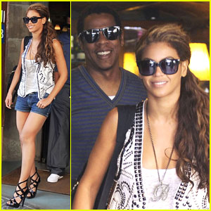 Beyonce Knowles & Jay-Z: Barcelona Brunch