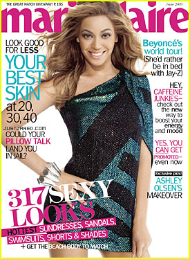 Beyonce Covers Marie Claire June 2009