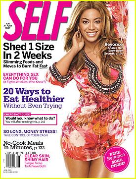 Beyonce Covers 'Self' June 2009
