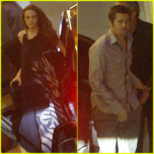 Brad Pitt & Angelina Jolie: Cannes Arrival!