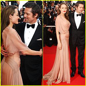 Brad Pitt & Angelina Jolie - 'Inglourious Basterds' Cannes Premiere
