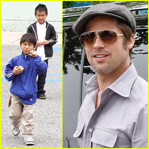 Brad Pitt's Sons See Star Trek