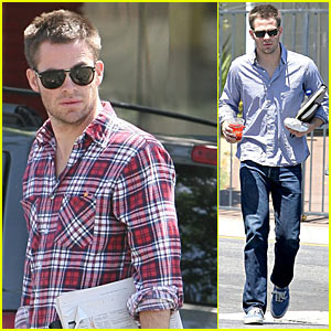 Chris Pine is Plaid Perfect