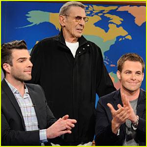 Star Trek Beams Into SNL