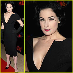 Dita Von Teese Flaps Her 'Birds of Paradise' Wings