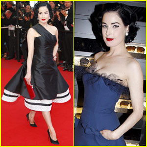 Dita Von Teese is Inglouriously Gorgeous