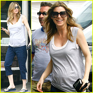 Ellen Pompeo: Baby Bump Watch!