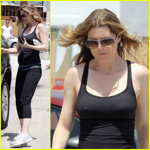 Ellen Pompeo is a Workout Woman