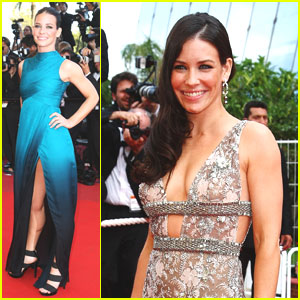Evangeline Lilly is Cannes Classy
