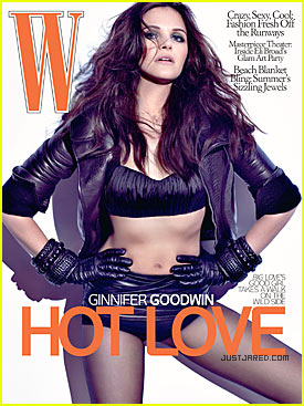 Ginnifer Goodwin Covers 'W Magazine' June 2009