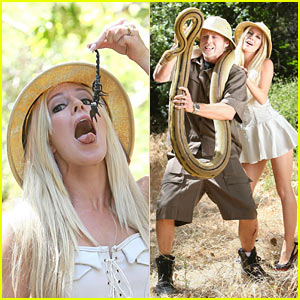 Heidi Montag & Spencer Pratt Enter the Jungle