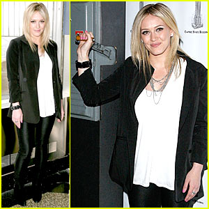 Hilary Duff Flips The Switch