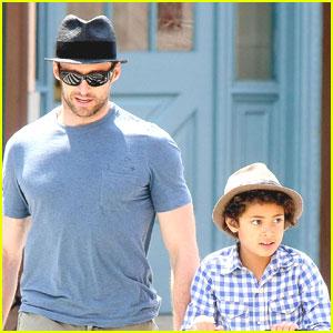 Hugh Jackman: Father-Son Bonding Time