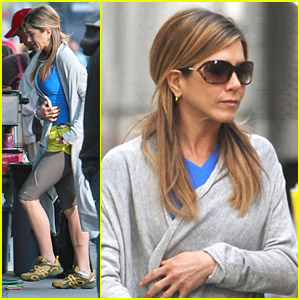 Jennifer Aniston is a Real Rock Climber