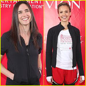 Jennifer Connelly & Jessica Alba: Revlon Radiant