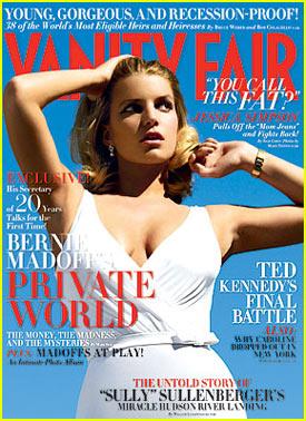 Jessica Simpson Covers Vanity Fair June 2009