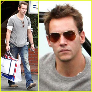 Jonathan Rhys Meyers is a Fred Segal Shopper
