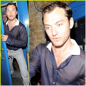 Jude Law is See-Through Sexy