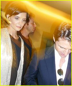 Tom Cruise & Katie Holmes: Star Trek Treat