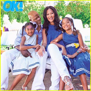 Kimora Lee Simmons & Djimon Hounsou Welcome Son