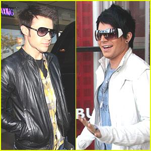 American Idols Kris Allen & Adam Lambert Live!