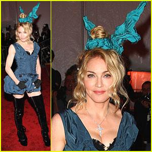 Madonna - 2009 MET Costume Gala