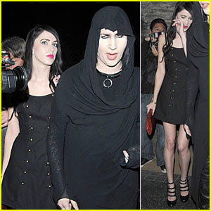 Marilyn Manson & Isani Griffith: Katsuya Couple