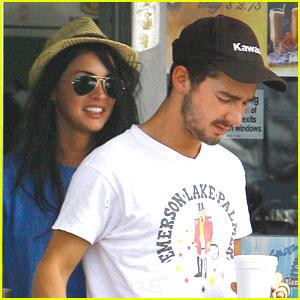 Megan Fox & Shia LaBeouf are Coffee Costars