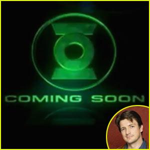 Nathan Fillion as Green Lantern -- Watch Now!