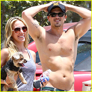 Nick Zano is Shirtless, New Bicep Tattoo