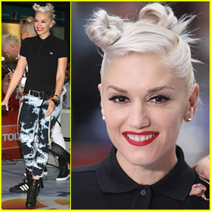 Gwen Stefani Brings Spiderwebs To Today Show