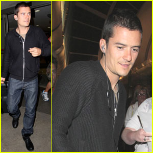 Orlando Bloom: Angelino Arrival