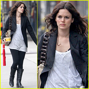 Rachel Bilson is Au Bon Pain Pretty