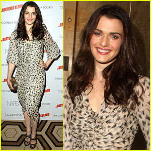 Rachel Weisz Can Play The Accordion... And Rap!