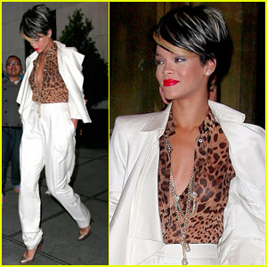Rihanna is Cheetah Cheerful