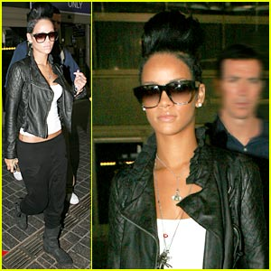 Rihanna: Leather Jacket Lovely
