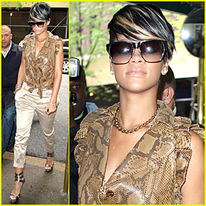 Rihanna is Snakeskin Sexy