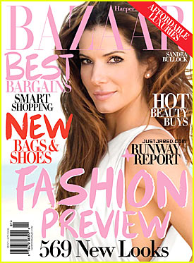 Sandra Bullock Covers Harper's Bazaar