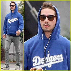 Shia LaBeouf is a Dodgers Dude