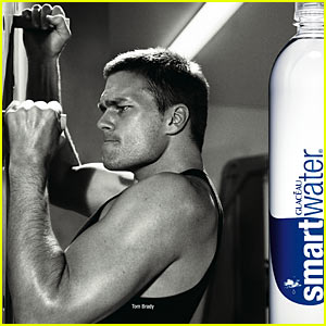 Tom Brady's Smartwater Ads Revealed