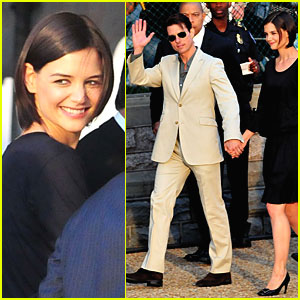 Tom Cruise & Katie Holmes: Capitol King & Queen!
